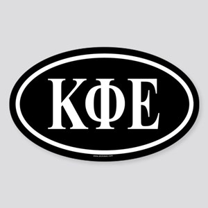 KAPPA PHI EPSILON Oval Sticker