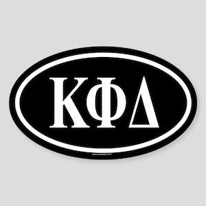 KAPPA PHI DELTA Oval Sticker