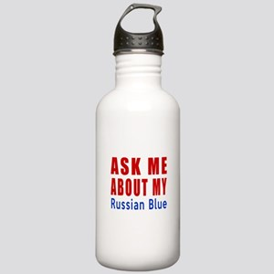Ask Me About My Russia Stainless Water Bottle 1.0L