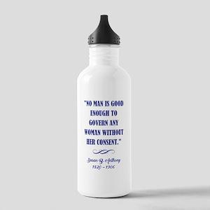 NO MAN IS... Water Bottle