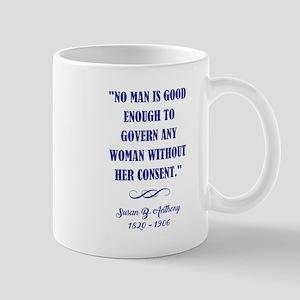 NO MAN IS... Mugs