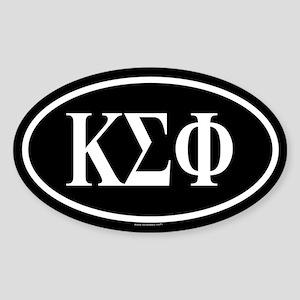KAPPA SIGMA PHI Oval Sticker