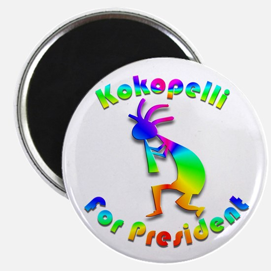 Kokopelli for President #2 Magnet