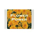 Coreopsis Flower Power Rectangle Magnet