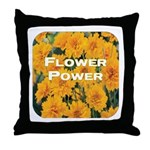 Coreopsis Flower Power Throw Pillow