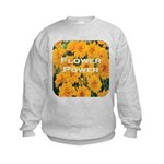 Coreopsis Flower Power Kids Sweatshirt