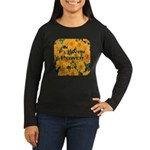 Coreopsis Flower Power Women's Long Sleeve Dark T-