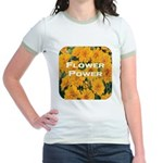 Coreopsis Flower Power Jr. Ringer T-Shirt