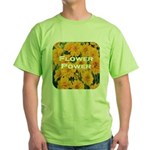 Coreopsis Flower Power Green T-Shirt