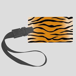 Tiger Stripes Large Luggage Tag