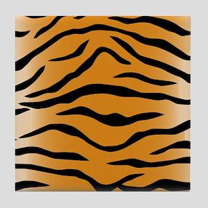 Tiger Stripes Tile Coaster