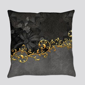 Wonderful floral design in grey and gold Everyday