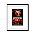 TSWY - Domestic Violence Poster Framed Panel Print
