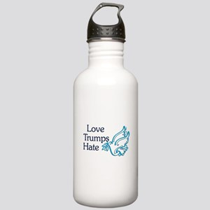 Love Trumps Hate Water Bottle
