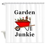 Garden Junkie Shower Curtain