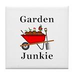 Garden Junkie Tile Coaster