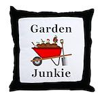 Garden Junkie Throw Pillow