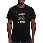 Garden Addict Men's Fitted T-Shirt (dark)