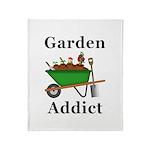 Garden Addict Throw Blanket