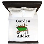 Garden Addict King Duvet