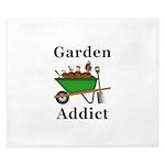 Garden Addict King Duvet