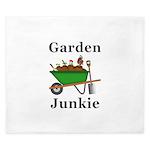 Garden Junkie King Duvet