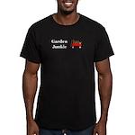 Garden Junkie Men's Fitted T-Shirt (dark)