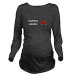 Garden Junkie Long Sleeve Maternity T-Shirt