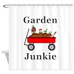 Garden Junkie Shower Curtain