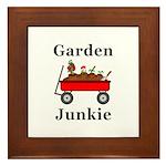 Garden Junkie Framed Tile