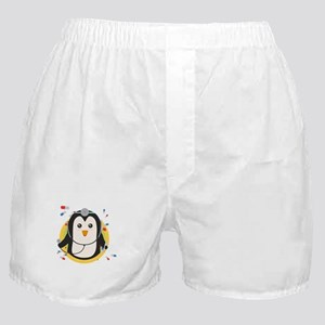 Penguin doctor in circle Boxer Shorts