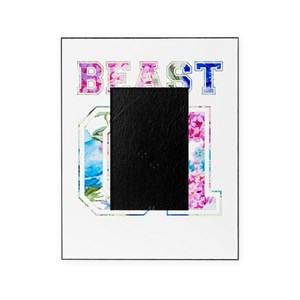 Beauty Beast Picture Frames Cafepress