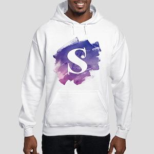 MONOGRAM Purple Brushstroke Sweatshirt