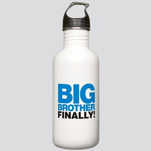 Big Brother Finally Water Bottle