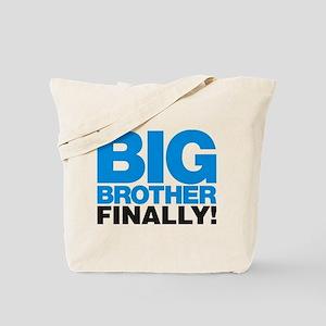 Big Brother Finally Tote Bag