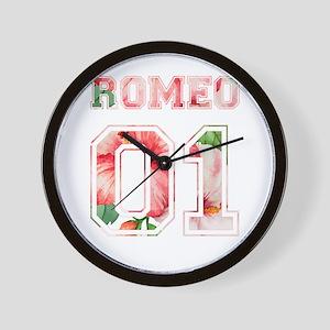 Romeo and juliet Wall Clock