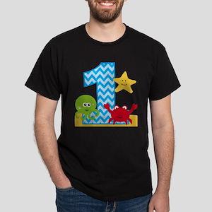 Under the Sea 1st Birthday T-Shirt