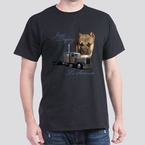 Just Trying To Survive Dark T-Shirt
