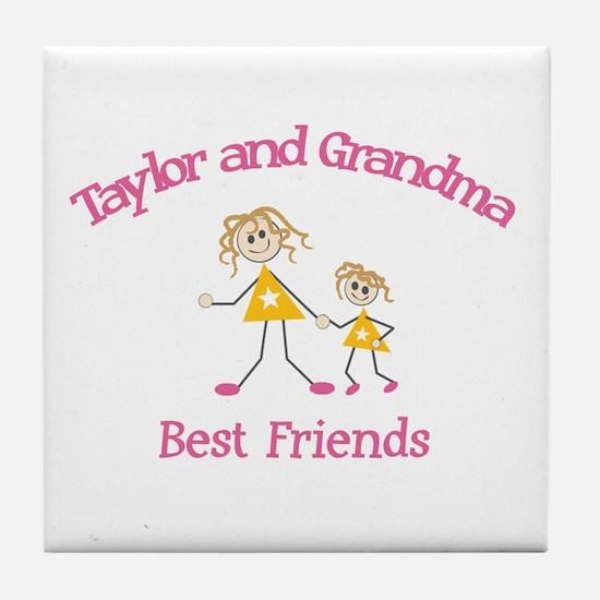 Taylor & Grandma - Best Frien Tile Coaster