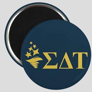 Sigma Delta Tau Greek Letters Magnet