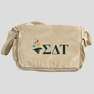 Sigma Delta Tau Greek Letters Messenger Bag