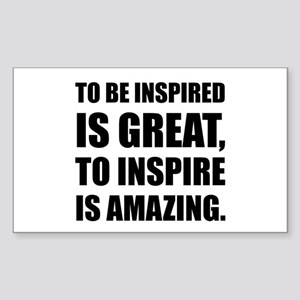 Inspire Is Amazing Sticker