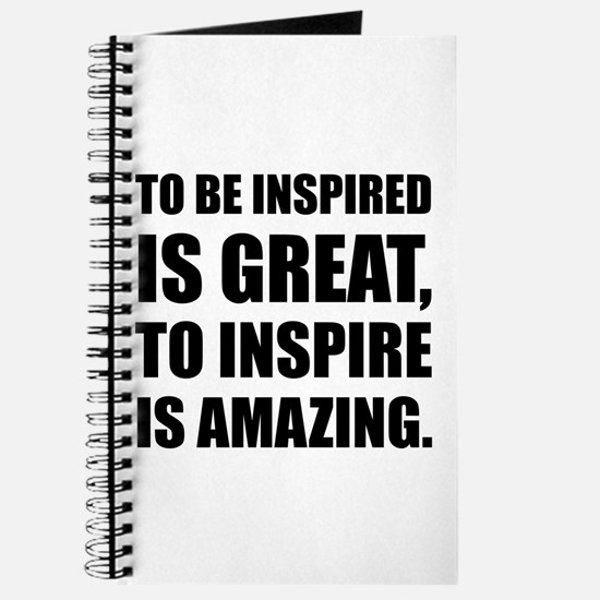 Inspire Is Amazing Journal