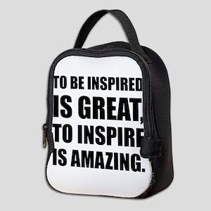 Inspire Is Amazing Neoprene Lunch Bag