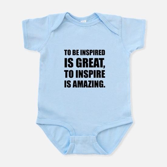 Inspire Is Amazing Body Suit