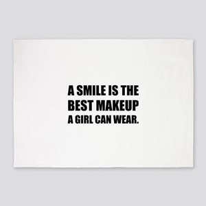Smile Best Makeup 5'x7'Area Rug