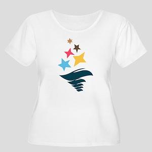 Sigma Delta T Women's Plus Size Scoop Neck T-Shirt