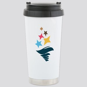Sigma Delta Tau Logo Stainless Steel Travel Mug
