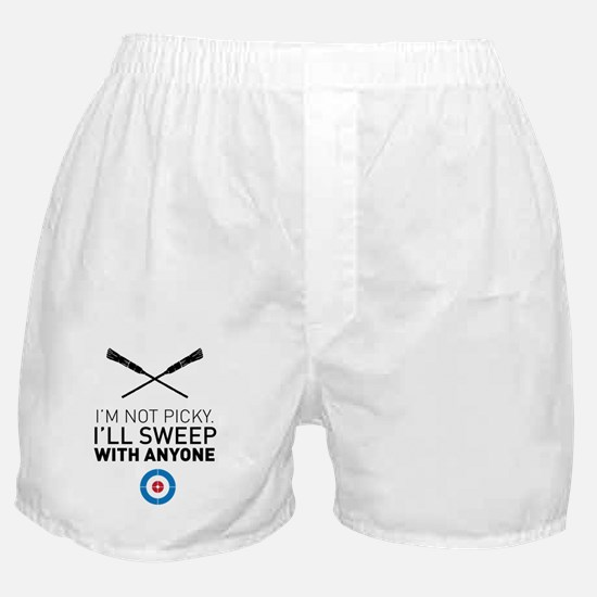 Funny Olympic curling Boxer Shorts
