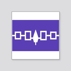 Iroquois Wampum Belt Sticker